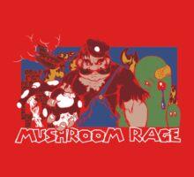 Mushroom Rage Kids Tee