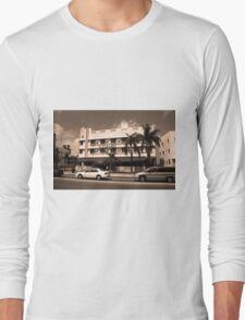 Miami Beach - Art Deco Long Sleeve T-Shirt
