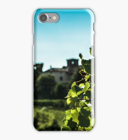 summer day in the vineyard iPhone Case/Skin