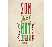 Buddy the Elf - Son of a Nutcracker! Photographic Print