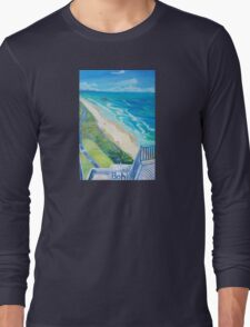 From Surfers Paradise the Gold Coast Queensland from High Surf Long Sleeve T-Shirt