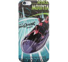 Space Mounain iPhone Case/Skin