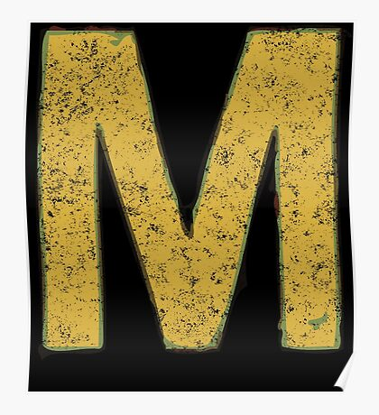 M is for Megatrip Poster