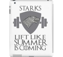 Stark Workout iPad Case/Skin