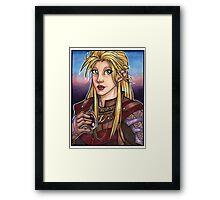 Elven Knight  Framed Print