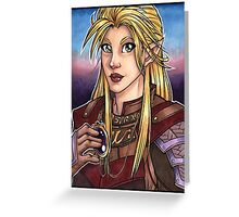 Elven Knight  Greeting Card