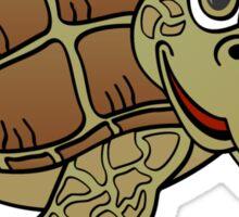 Sea Turtle Cartoon Sticker