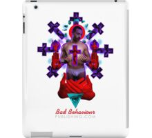 'Father' Tee by Bad Behaviour iPad Case/Skin