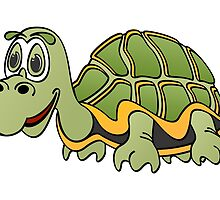 Turtle Cartoon by Graphxpro