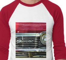 Chevrolet Impala Grill Men's Baseball ¾ T-Shirt