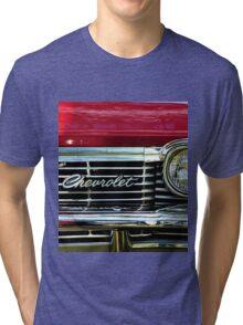Chevrolet Impala Grill Tri-blend T-Shirt