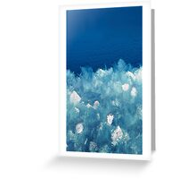 Faux Ice Greeting Card