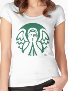 Starbucks Don't Blink Women's Fitted Scoop T-Shirt