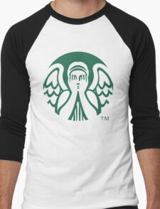 Starbucks Don't Blink Men's Baseball ¾ T-Shirt