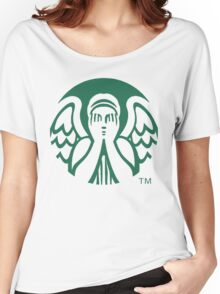 Starbucks Don't Blink Women's Relaxed Fit T-Shirt