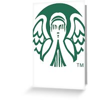 Starbucks Don't Blink Greeting Card