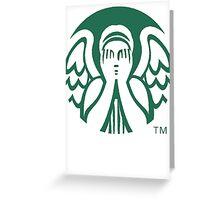 Starbucks Don't Blink Greeting Card
