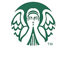 Starbucks Don't Blink Photographic Print
