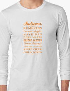 Autumn Fun Long Sleeve T-Shirt