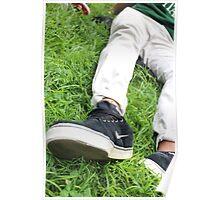 Grassy Skater Poster