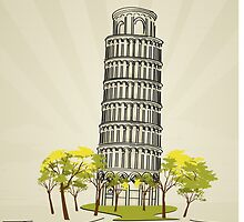 Pisa by Richard Laschon