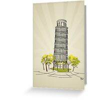 Pisa Greeting Card