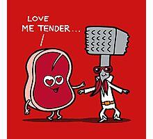 Love me tender Photographic Print