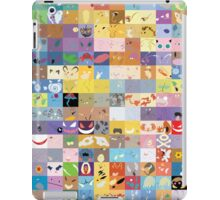 All 150 Catchable Pokemon Wallpapers iPad Case/Skin