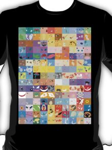 All 150 Catchable Pokemon Wallpapers T-Shirt