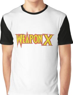 Weapon X! Graphic T-Shirt