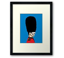 Beefeater Framed Print