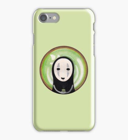 No Face Green Tea iPhone Case/Skin