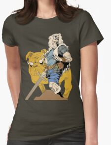 Adventurous Timing ~ Colored Heroes Womens Fitted T-Shirt