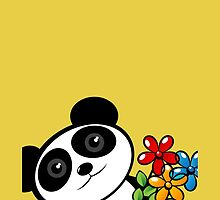 Panda lover by Richard Laschon
