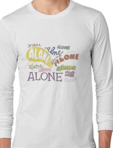 Squidward's Alone Long Sleeve T-Shirt