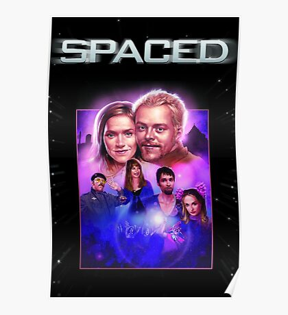 Spaced TV Show Artwork Poster