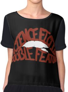 Science Fiction Double Feature Chiffon Top