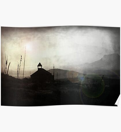 Living in Ghost Town Poster