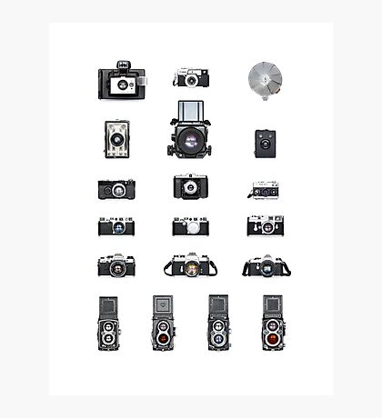 Cameras Collection Photographic Print