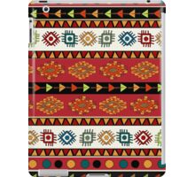 Abstract Ethnic pattern in vivid colors. iPad Case/Skin