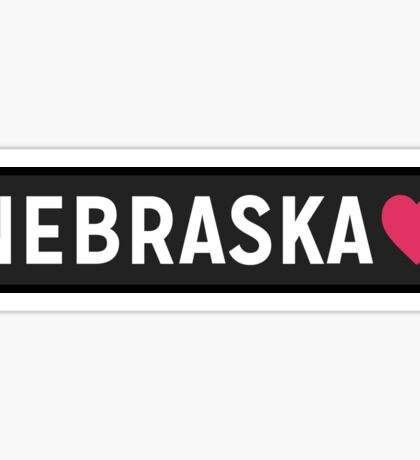 Nebraska Sticker