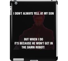 The World's Most Horrible Father iPad Case/Skin