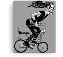 Metal To The Pedal Canvas Print