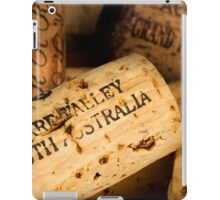 Clare Valley bottle cork iPad Case/Skin