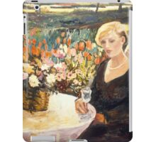 Sophisticated Young Lady iPad Case/Skin
