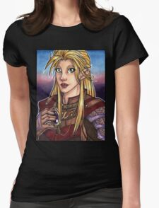 Elven Knight  Womens Fitted T-Shirt