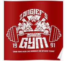 Zangief's Gym  Poster