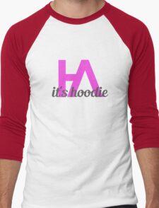 Simplistic Hoodie Allen Design 2 Men's Baseball ¾ T-Shirt