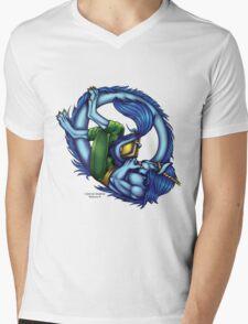 Book Dragon  Mens V-Neck T-Shirt