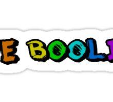 We Boolin Sticker